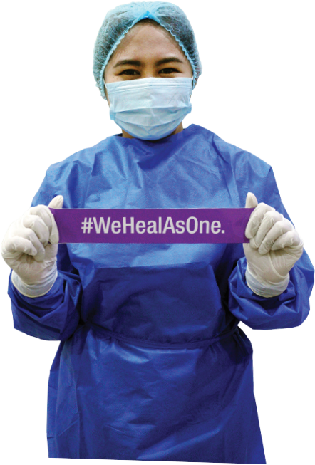 We Heal As One